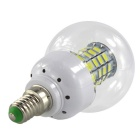 HONSCO E14 6W 69-5730 SMD 600lm froid blanc ampoule LED (ac / dc 10 ~ 60V)