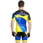 NUCKILY High Quality menn Sykling Kortermet Jersey + Short Pants
