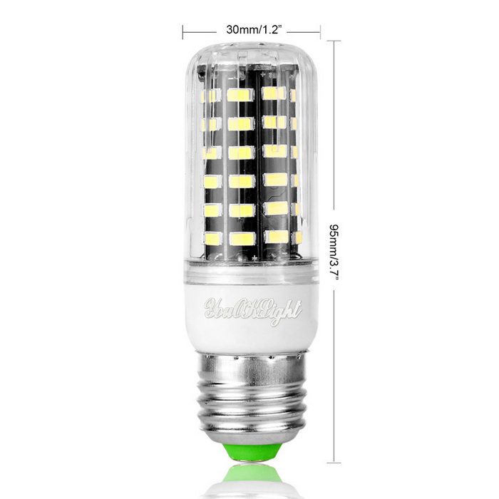 Youoklight yk1080 e27 7w led corn lampen warm wit licht for Lampen 4 you