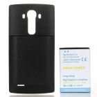 Utskifting 6800mAh Li-ion batteri + Back Case for LG G4 + More