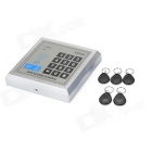 K2000 Password Access Control Card Reader - Silver Grey + Black
