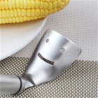 Stainless Steel Cutting Threshing Tool for Corn Maize Kernels - Silver