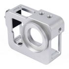 Silver Metal CNC Aluminium Protective Case Shell for GoPro Hero 4 / 3+