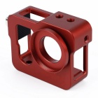 Red Metal CNC Aluminium Protective Case Shell for GoPro Hero 4 / 3+
