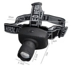 HL-S Small Headlamp for  Indoor / Outdoor Sporting Fishing - Black
