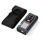 "100m 1.8"" LCD Laser Distance Meter Range Finder - Black + Blue"