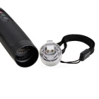 3-delige Retractable Smart Cane w / GPS, SOS, Flashlight - Zwart