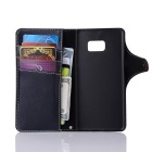 Cow Split Leather Case w/ Card Slots / Stand for Samsung Galaxy Note 7