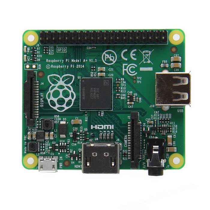 Raspberry Pi Model A+ 512MB RAM Module BoardRaspberry Pi<br>Form  ColorJadeModelA+Quantity1 DX.PCM.Model.AttributeModel.UnitMaterialPCB +  electronicsEnglish Manual / SpecYesDownload Link   http://www.raspberrypi.org/forums/CertificationCE &amp; FCCPacking List1 x Raspberry Pi Model A+ (512MB)<br>