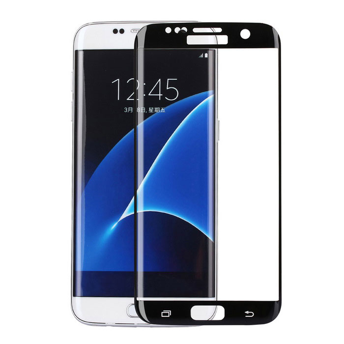 ASLING Full Cover Arc Tempered Glass Screen for Samsung S7 Edge
