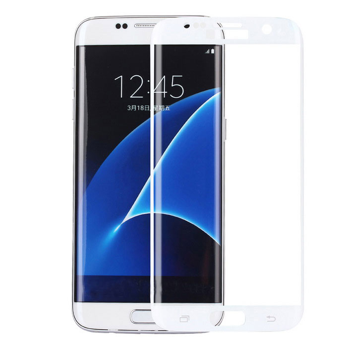 ASLING 0.2mm 3D Full Cover Arc Tempered Glass Screen Protector - White