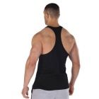 Summer Outdoor Sports Fitness Cotton Vest - Black (XL)