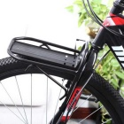 Aluminum Alloy Bike Front Carrier Luggage Rack - Black