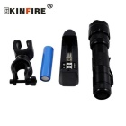KINFIRE WF502 XM-L2 LED 900lm 5-Mode Bicycle Light Flashlight w/ Clip