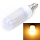 E14 5W 500LM 69-5730 SMD LED 3000K Warm White Light Corn Lamp