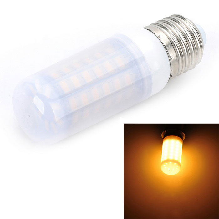 E27 5W 500LM 69-SMD LED 3000K Warm White Light Corn Lamp