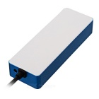 BSTUO 4 Port USB 3.0 Hub + 1 Charging Port - White + Blue