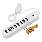 BSTUO 8 Port USB 2.0 Hub with 60cm Cable - White