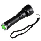 PRAIRIEFIRE T6-D7 800lm 5-Mode White Light Flashlight w/ Strap - Black