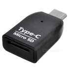 BSTUO Mini USB3.1 Type-C TF Card Reader - Preto