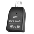 BSTUO Mini Micro USB OTG TF Card Reader - Black