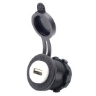 12~24V Car and Motorcycle Waterproof Mobile Phone USB Car Charger