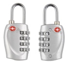 Naturehike Resettable Combination Password Lock - Silver