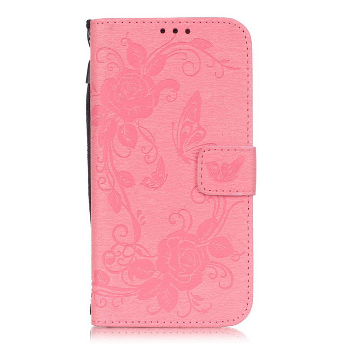 BLCR PU Leather + TPU Case for Samsung Galaxy S7 Edge - Pink