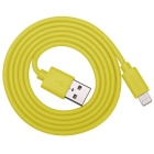 Prolink PB341YW MFi 8Pin Lightning Charging Data Sync Cable -Yellow 1m