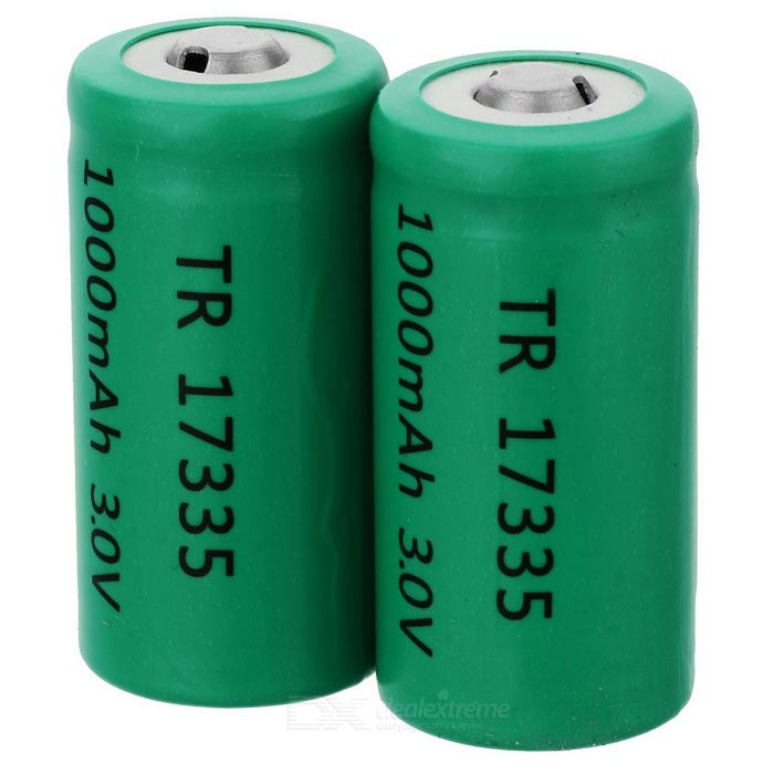 LC 17335 3V 1000mAh CR123A Battery 2-Pack lc 37hc40 lc 37hc56 cpt 370wf02c used disassemble