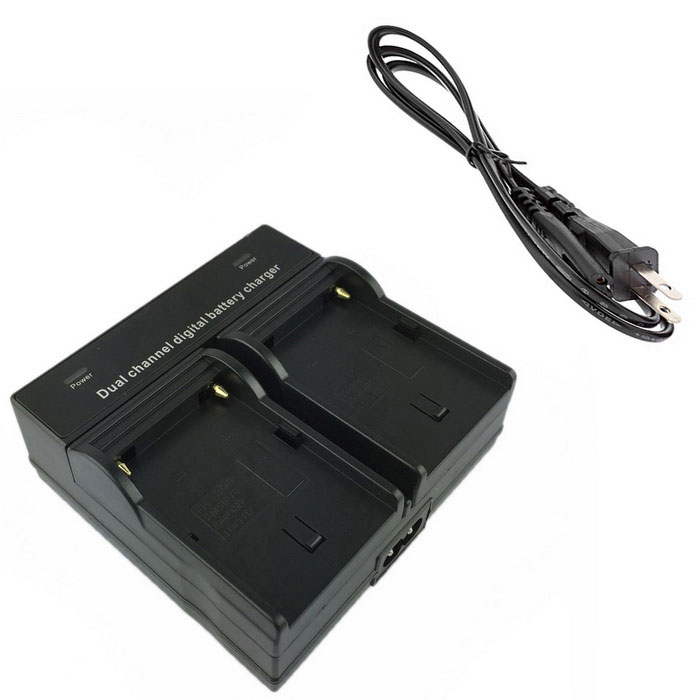 FM500H Digital Camera Battery Dual Charger for Sony A57 A58 A65 A77