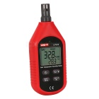 UT333 Mini Hygrometer Digital Temperature Humidity Meter - Red
