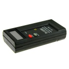"IN-Color 2"" LCD Electromagnetic Radiation Detector - Black + Red"