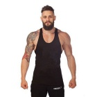 Summer Outdoor Sports Fitness Cotton Vest - Black (L)