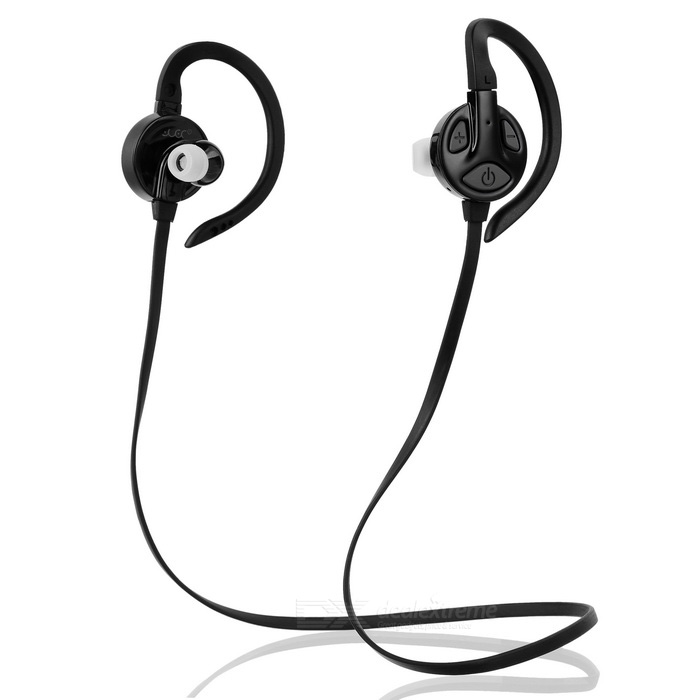 Yueer Bluetooth 4.1 sem fio Sports Gancho Headset - Black