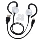 YUEER Bluetooth 4.1 Headset Earhook Wireless Sports - Branco + Amarelo