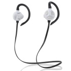 Yueer Bluetooth 4.1 Deportes Wireless Headset gancho para la oreja - Negro + blanco