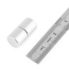 Cylindrical 20 * 20 * 20mm  Powerful NdFeB Cylinder Magnet (2PCS)