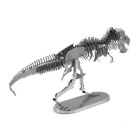 DIY 3D Puzzle Assembled Model Toy Dragon Skeleton - Silver