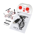 Hubsan H111C Mini Nano HD Camera 2.4G 4CH RC Quadcopter -  White