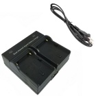 F550 Digital Camera Battery  Dual Charger for Sony NP-F550 330 530 570