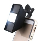 3D Mini Special Effects Camera Lens for Mobile Phones - Black