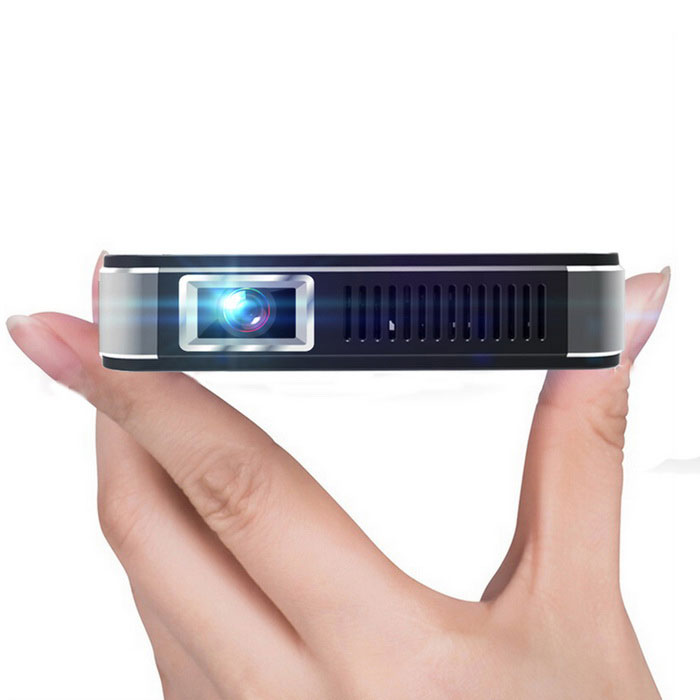 NETIZEN U9 DLP Projector w/ 4400mAh Battery�� Wi-Fi�� LED 800lm