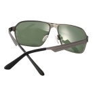 ReeDoon S792-8 Protection Polarized Sunglasses - Gun + Dark Green