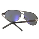 ReeDoon S896-4 Protection Polarized Sunglasses - Gun Color + Gray