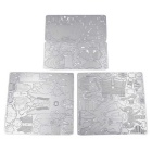 3D Stereo DIY Creative Puzzle Steel Warrior - Silver