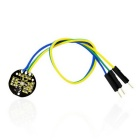 Keyestudio XD-58C Pulse Sensor Module - Black + Yellow