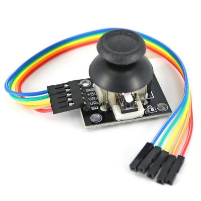 PS2 Thumb Joystick Game Controller Sensor Module w/ Cable for Arduino