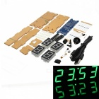 DIY EC1621 DS3231 Rotation LED Electronic Clock & Acrylic Shell Kit