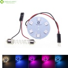 RGB 2W Festoon With Elastic Spring Suitable for 31mm-44mm Dome Bulb